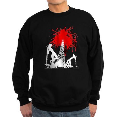 Oil of blood Sweatshirt (dark)