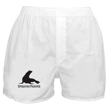 Operation Pinniped Boxer Shorts
