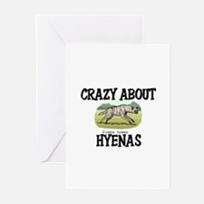 Crazy About Hyenas Greeting Cards (Pk of 10)