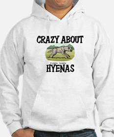 Crazy About Hyenas Hoodie