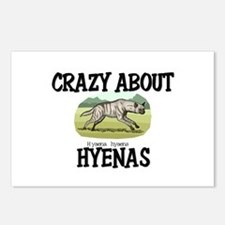 Crazy About Hyenas Postcards (Package of 8)