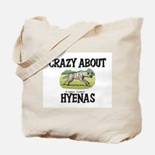 Crazy About Hyenas Tote Bag