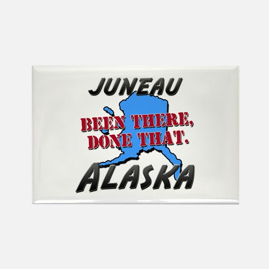 juneau alaska - been there, done that Rectangle Ma