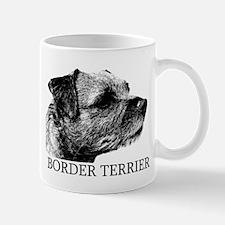 New! Border Terrier drawing Mug