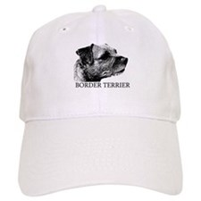 New! Border Terrier drawing Baseball Cap