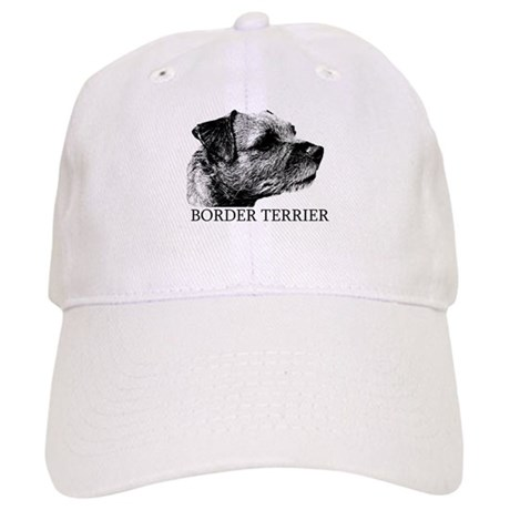 New! Border Terrier drawing Cap