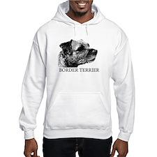 New! Border Terrier drawing Jumper Hoody