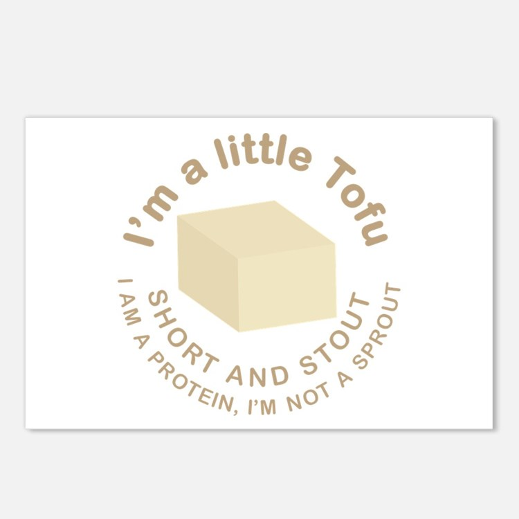 I'm a Little Tofu Postcards (Package of 8)
