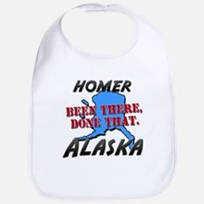 homer alaska - been there, done that Bib