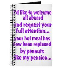 attention purple Journal
