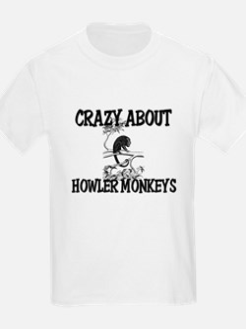 Crazy About Howler Monkeys T-Shirt