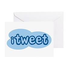 iTweet (Twitter) Greeting Card