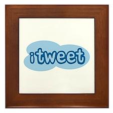 iTweet (Twitter) Framed Tile