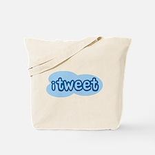 iTweet (Twitter) Tote Bag