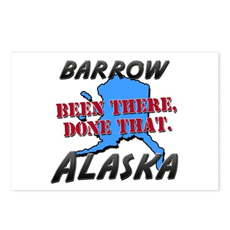 barrow alaska - been there, done that Postcards (P