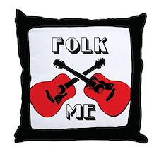 Folk Me Throw Pillow