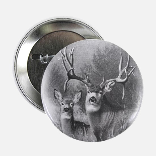 "Mule Deer 2.25"" Button"