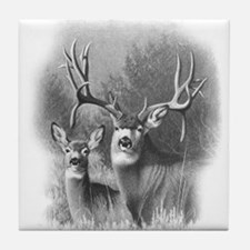 Mule Deer Tile Coaster