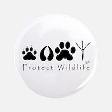 "Protect Wildlife 3.5"" Button"