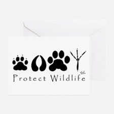 Protect Wildlife Greeting Card