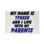 my name is tyrese and I live with my parents Recta