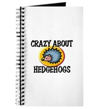 Crazy About Hedgehogs Journal