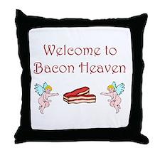 Bacon Heaven Throw Pillow