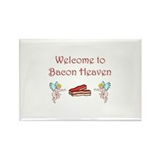 Bacon Heaven Rectangle Magnet