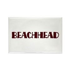 Beachhead Rectangle Magnet