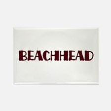 Beachhead Rectangle Magnet