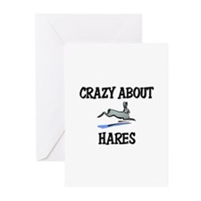 Crazy About Hares Greeting Cards (Pk of 10)