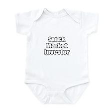 """""""Stock Market Investor"""" Infant Bodysuit"""