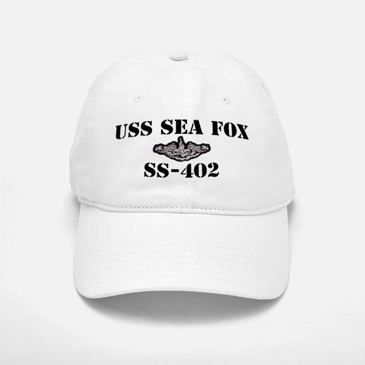 USS SEA FOX Baseball Baseball Cap