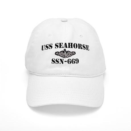 USS SEAHORSE Cap