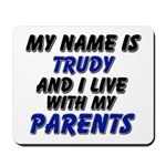 my name is trudy and I live with my parents Mousep