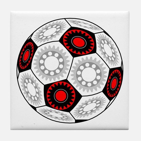 Mechanical Soccer Tile Coaster