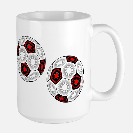 Mechanical Soccer Large Mug