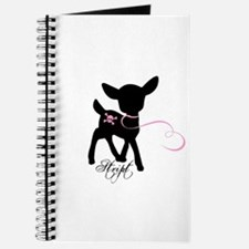 Baby Deer on a Leash Journal