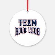 Team Book Club Ornament (Round)