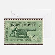 Fort Sumter Civil War Greeting Cards (Pk of 10