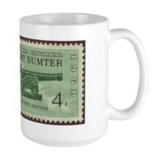 Fort Sumter Civil War Mug