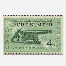 Fort Sumter Civil War Postcards (Package of 8)