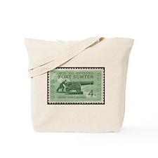 Fort Sumter Civil War Tote Bag
