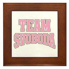 Team Svoboda Framed Tile