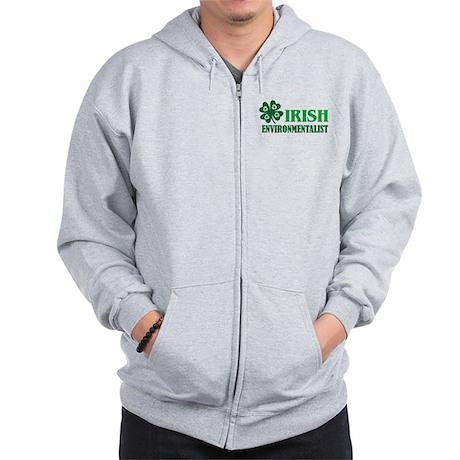 Irish Environmentalist Zip Hoodie