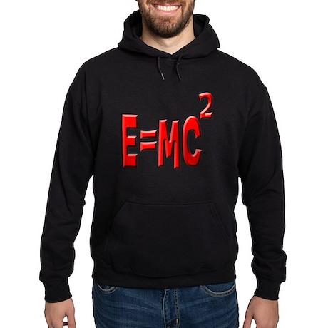 E=MC2 (red) Hoodie (dark)