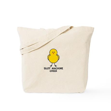 Slot Machine Chick Tote Bag
