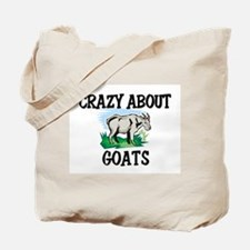 Crazy About Goats Tote Bag