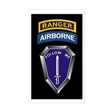 Ranger Training Battalion Rectangle Decal