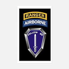 Ranger Training Battalion Rectangle Decal